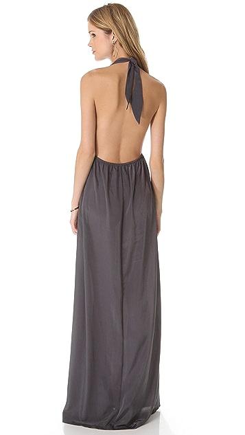 state & lake Halter Maxi Dress