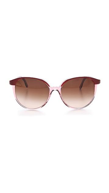 Stella McCartney Ultrathin Round Sunglasses