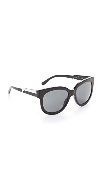 Stella McCartney Oversized Teardrop Sunglasses