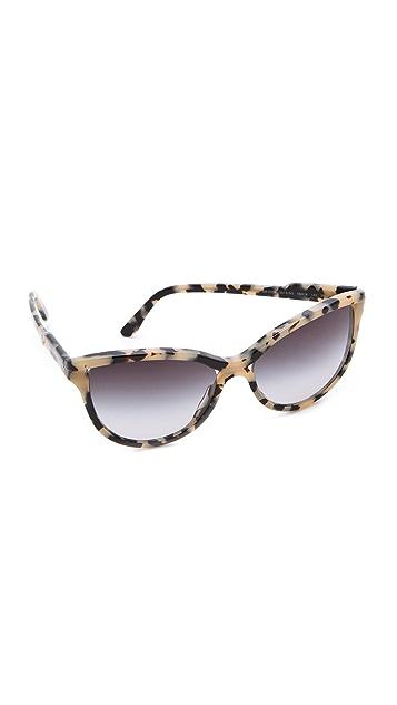 6df443c077523 Stella McCartney Rounded Cat Eye Sunglasses