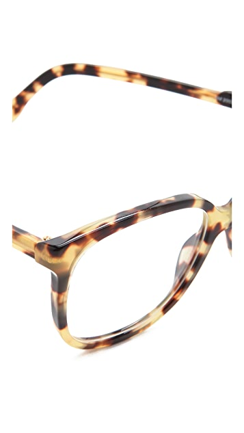 Stella McCartney Oversized Square Glasses