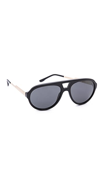 Stella McCartney Keyhole Aviator Sunglasses