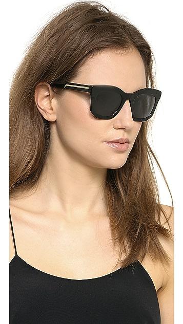 Stella McCartney Thick Frame Sunglasses