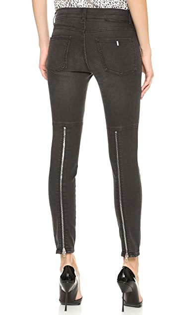 Stella McCartney The Chunky Zip Jeans