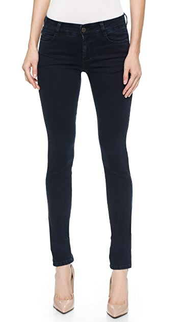 Stella McCartney The Skinny Long Jeans - Blue Black