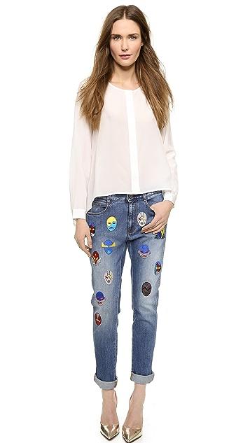 Stella McCartney The Skinny Boyfriend Jeans
