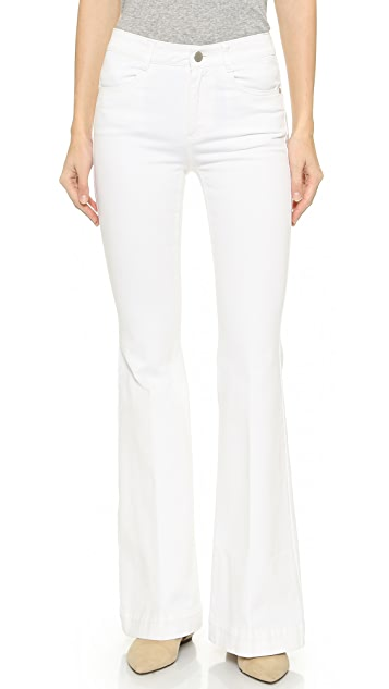 Stella McCartney Short '70s Flare Jeans
