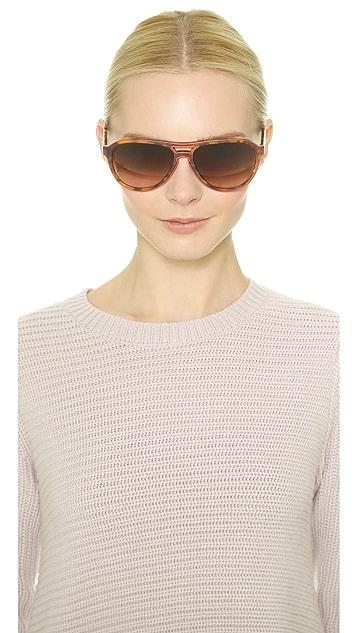 Stella McCartney Outlined Aviator Sunglasses