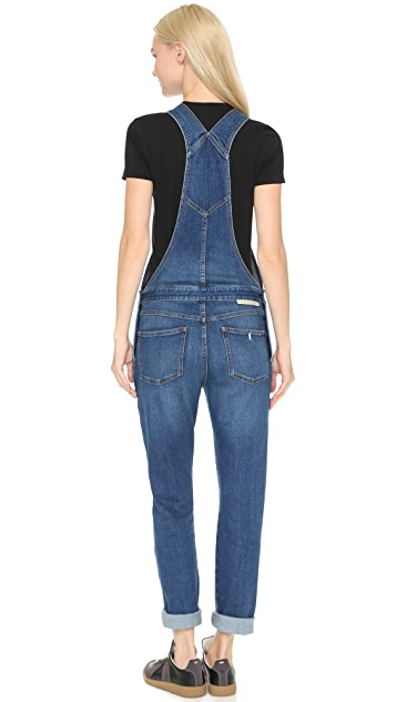 Stella McCartney The Skinny Boyfriend Overalls