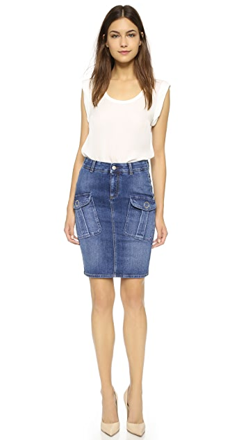 Stella McCartney Denim Skirt