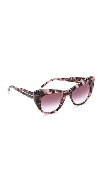 Stella McCartney Cat Eye Statement Sunglasses