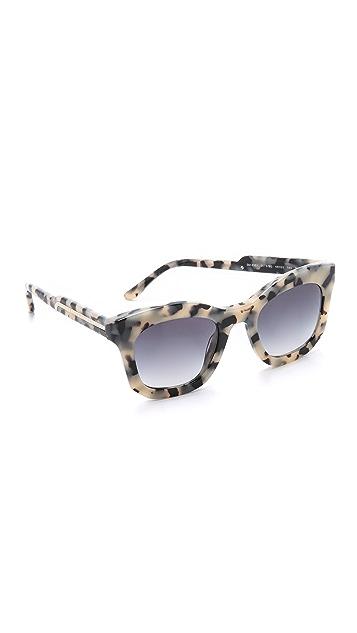 f6896f830d6da Stella McCartney Thick Frame Sunglasses
