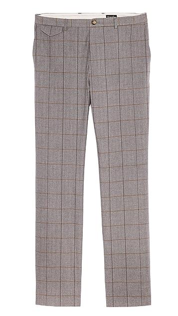 Steven Alan Slim Windowpane Trousers