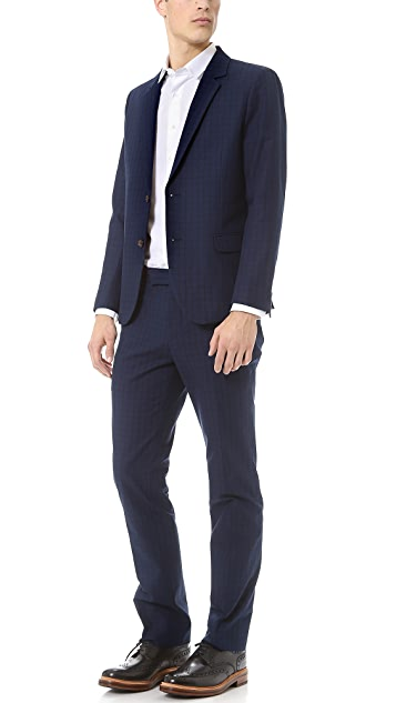 Steven Alan Oliver Twill Suit Jacket