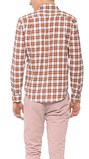 Steven Alan Plaid Classic Collegiate Shirt