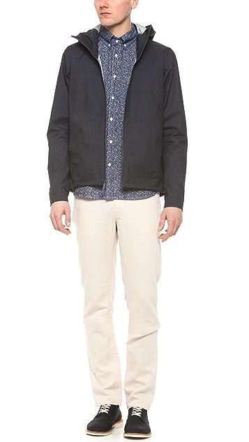 Steven Alan Floral Classic Collegiate Shirt