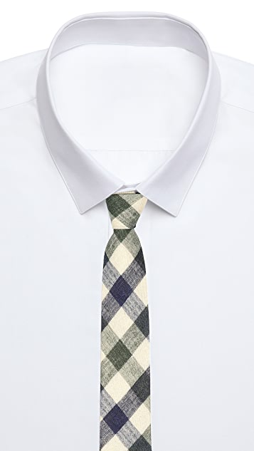 Steven Alan Check Tie