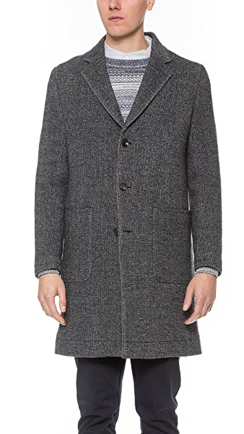 Steven Alan Patch Pocket Topcoat