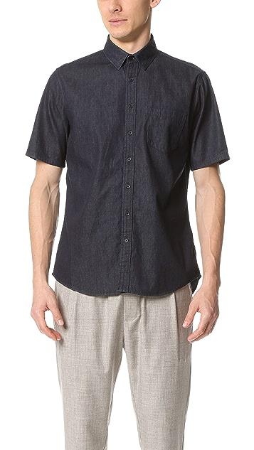 Steven Alan Short Sleeve Masters Shirt