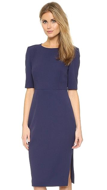 ST Olcay Gulsen Tailored Drape Dress