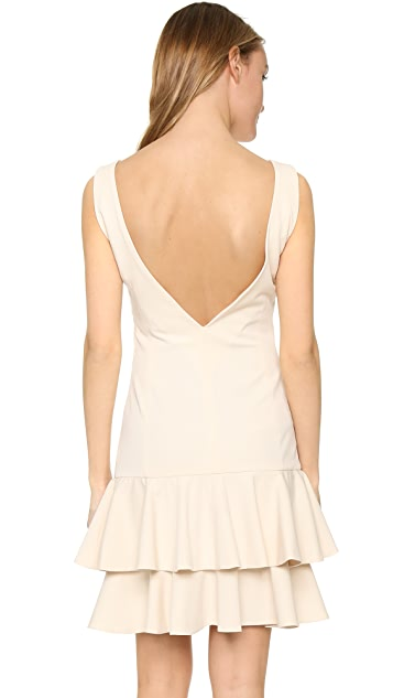 ST Olcay Gulsen Drop Waist Ruffle Dress