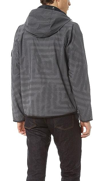 Stone Island Reflective Jacket with Lazer Treatment