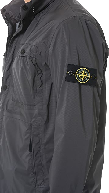 Stone Island Garment Dyed Ripstop Parka