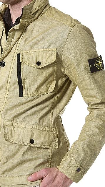 Stone Island Waxed Linen Jacket
