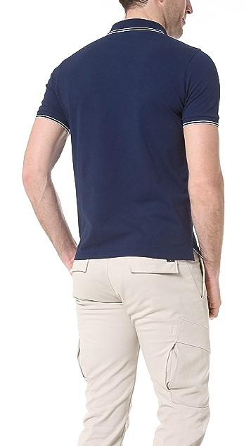 Stone Island Stretch Pique Slim Fit Polo