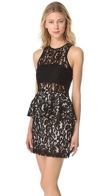 STYLESTALKER Panther Lace Dress
