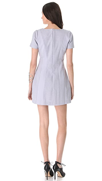 STYLESTALKER Perforated Dress