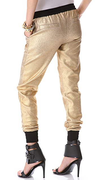 STYLESTALKER Go For The Gold Pants