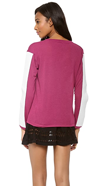 STYLESTALKER Three Pointer Top