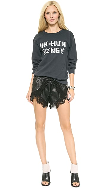 STYLESTALKER Uh Huh Honey Sweatshirt