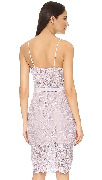 STYLESTALKER Sunset Midi Lace Dress