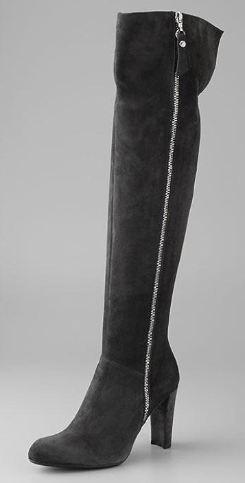 Stuart Weitzman Zip Over the Knee Boots