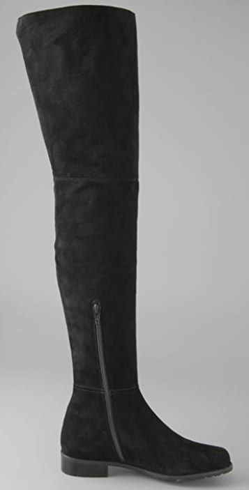 Stuart Weitzman Hilo Thigh High Suede Boots