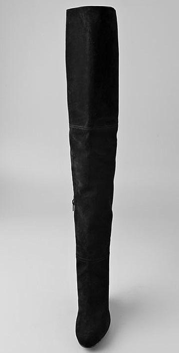 Stuart Weitzman Hiup Over the Knee Suede Boots