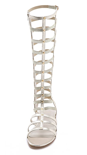 Stuart Weitzman Gladiator Knee High Sandals