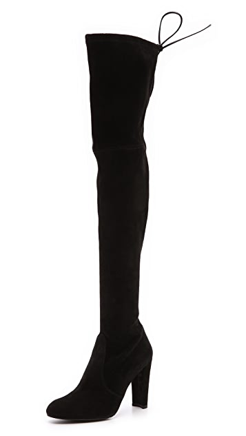 e37f74e8ee2 Highland Suede Over the Knee Boots