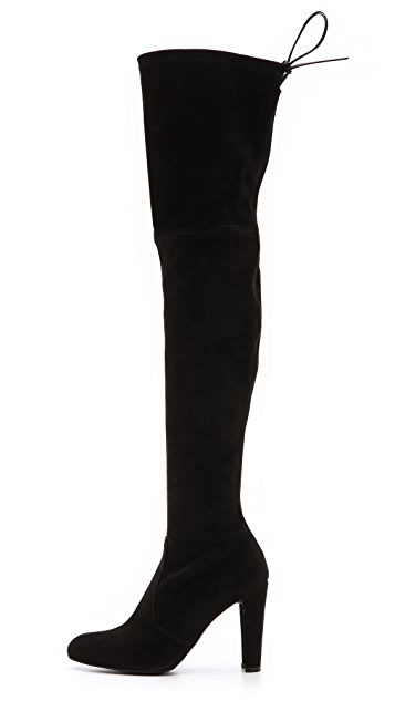 Stuart Weitzman Highland Suede Over the Knee Boots