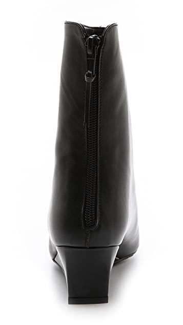 Stuart Weitzman Fineline Mini Wedge Booties