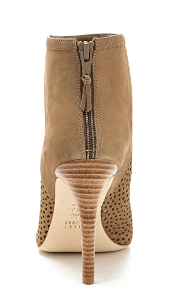 Stuart Weitzman In & Out Ankle Booties