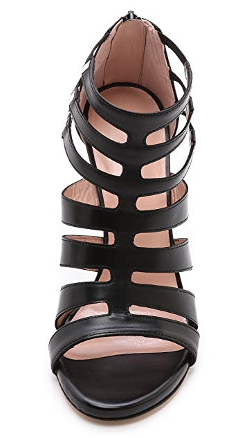 Stuart Weitzman Outing Cutout Sandals