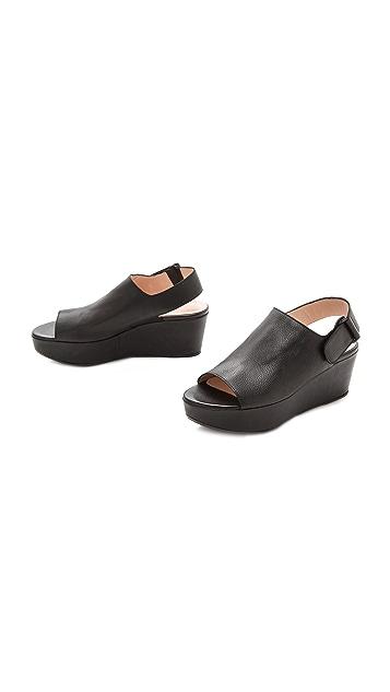 Stuart Weitzman Flatform Sandals