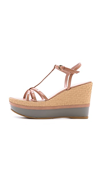 Stuart Weitzman Velocity Multicolor Wedge