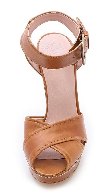 Stuart Weitzman Exponent Cross Strap Sandals