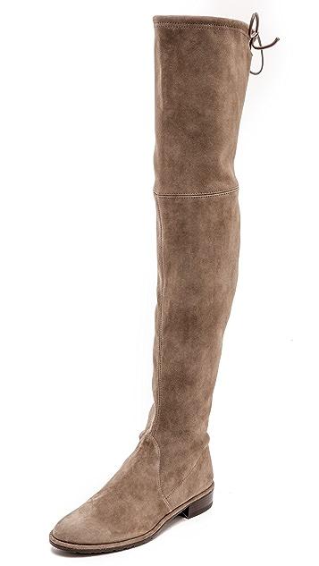 Stuart Weitzman Lowland Thigh High Flat Boots