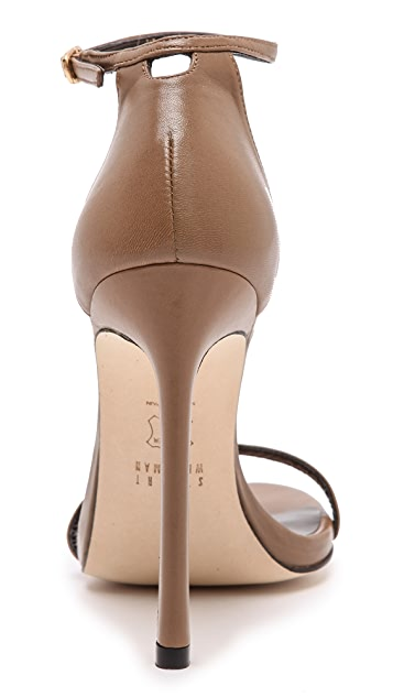 Stuart Weitzman Nudist 110mm Sandals