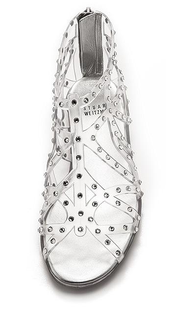 Stuart Weitzman Glogladius Jelly Sandals